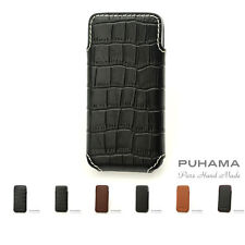 PUHAMA HA10 Custom Hand Made Leather case for Apple iPhone 5 / 5S