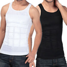 1pc Men Boy Slimming Vest Shirt Corset Skinny Body Shaper Fatty M1347