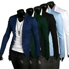 Jeansian Mens Jackets Blazer Coats Shirts Tops Outerwear 5 Colors XS S M L 8966