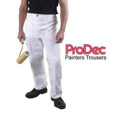 NEW Dickies WD824 Painters Trousers Knee Pad Pouches White Cotton 30-44''