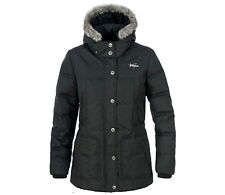 LADIES TRESPASS DOWN INSULATED HOODED JACKET SIZE 10-18 BLACK RRP £114.99!! Prms