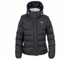 LADIES NEW TRESPASS DOWN INSULATED JACKET BLACK  SIZES 10-18 RRP £139!! TPJAL