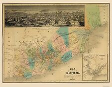 CALIFORNIA STATE (CA) BY VINCENT 1860