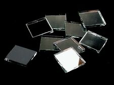 Silver Mirror Mosaic Glass Tile * Cut to Order Shapes * Large Package
