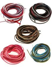 10m x 3mm Faux Suede Cord Thong Mixes, Gorgeous Colour Packs!