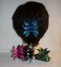 Metallic Flower Petal Hair Claw Clip Jaw Claw  #3358 **Avail In 6 Colors**