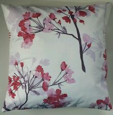 """Pink Floral Print Cushion Cover Matches Next Curtains Bedding 14"""" 16"""" 18"""" 20"""""""