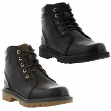 Caterpillar Cat Utility Chukka Mens Leather Lace up Ankle Boots Sizes UK 7 - 12