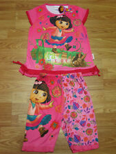 Dora the Explorer Girl Outfit Set Top + Shorts #188 Size 4-8 age 3-8