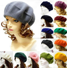 Fashion Beret Classy French Classic Style Hat Warm Wool Elegant Felted Soft New