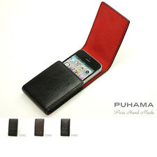 PUHAMA HA41 Custom Hand Made Leather case for Apple iPhone 5 / 5S