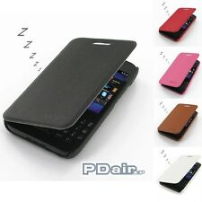 PDair Casual Folio Book Cover Case for Blackberry Q5
