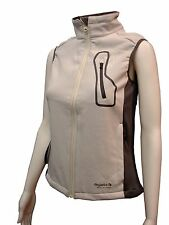LADIES REGATTA WATER REPELLENT SOFTSHELL BODYWARMER CREAM SIZES 8-16 RRP£30 Atrh