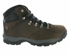 New Men Hi-tec Quebec Waterproof Hiking Full Grain Leather Boots Size 7-12