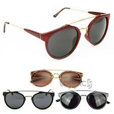 New Fashion Super Vintage Style Womens UV400 Alloy Metal Sunglasses Sunshades