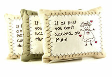MUM SENTIMENT CUSHION. FRENCH COUNTRY DESIGN. GREAT OCCASION GIFT 97213