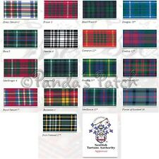 Berisfords Polyester Tartan Ribbon 7mm,10mm,16mm Choose Pattern Width and Length