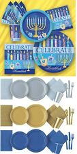 HANUKKAH PARTY Tableware / Decorations Napkins, Plates, Cups, Tablecloth cover