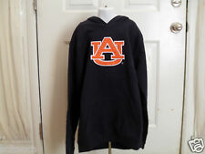 Brand New Embroidered Youth (All Sizes) Auburn Tigers Blue Hooded Sweatshirt