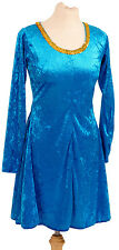 CELTIC- Dance -Irish- Lyrical Delightful TURQUOISE IRISH DANCE DRESS all Ages