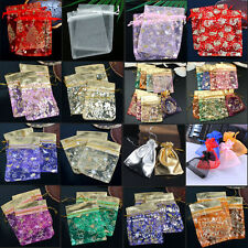 Wholesale Organza Voile Pouches Jewelry Gift Wedding Christmas Xmas Favor Bag