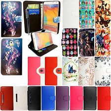 For Samsung Galaxy Note 3 III N9000 N9005 PU Leather Magnetic Closer Case+Stylus