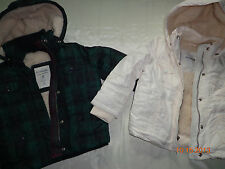 1 New Outewar Little Gilrs Winter Fur Jacket 77Kids by American Eagle Size 4 $64