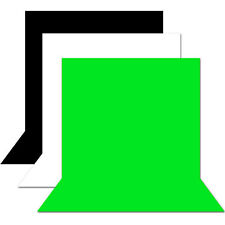 All Size Black white green high key muslin heavy duty backdrop studio background