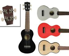 New Soprano Ukulele Quality Real Wood Uke with Geared Tuners by R.W. Jameson