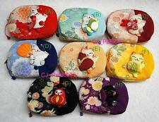 Maneki Neko Cat Makeup Cosmetic Bag Purse Iphone Bag Wallet Multi-Function-Small