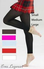 70 Denier Opaque Footless Tights, Various Colours S, M, LRG – Dance, Fashion