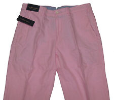 Polo Ralph Lauren Mens Preston Pink Casual Flat Front Chino Khakis Pants New
