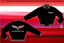 Corvette Jacket Ripstop Light Weight Polyester Nylon Adult BLOWOUT SALE