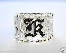15MM HAWAIIAN BEH STERLING SILVER CUSTOM MADE PERSONALIZED HEIRLOOM RING SZ 3-16