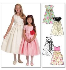 McCall's 5795 Sewing Pattern to MAKE Easy Girls Special Dresses 6 Great Looks