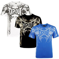Tapout Darkside Tee T-Shirt MMA Mixed Martial Arts Free Fight Kampfsport