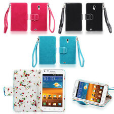 IZENGATE Wallet PU Leather Flip Case Cover for Samsung Galaxy S2 Boost Mobile