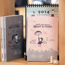 Pony Brown Diary Planner Journal Organizer Scheduler Agenda Notebook Cute Kawaii