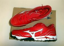 Mizuno Speed Trainer 4 Men's Baseball Turf Shoes NEW Red/White Size 10.5
