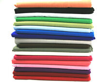"""58"""" wide Linen-Look Cotton Dress Fabric - Full Range of Colours"""