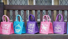 LITTLE JUTE LUNCH BAGS - Various designs