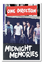 Framed One Direction Midnight Memories Poster Ready To Hang Frame