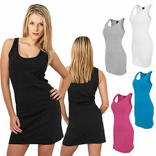 Urban Classics Women Sleeveless Dress Beach Dress Cocktail Mini Xs-xl