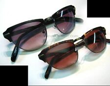 LAVERNE Colors in Optics Clubman Browline Cat Eye Sunglasses Shuron Ray Ban Styl