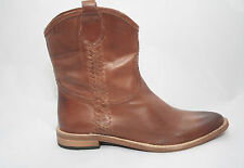Women's Cassie Cognac from Spirit by Lucchese Leather Brown Western Boot