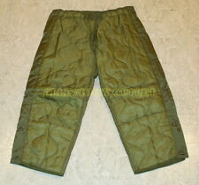 US Military PANT LINER Thermal Field Trouser Liner Cold Weather USGI XS S M L XL