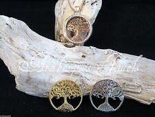 1x MEDIUM COIN/MONEDA ONLY. TREE OF LIFE FOR MI MILANO NECKLACE/PENDANT/KEEPER