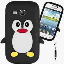 Penguin Style Case For Samsung Galaxy Young GT-S6310 / S6312 Back Cover