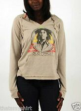 New Authentic Bob Marley Bob Marley Rasta Triangle Pullover Hoodie