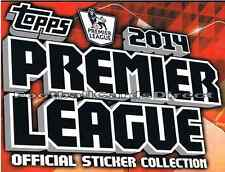 Topps Premier League Stickers 2014 13/14 - FOIL Topps Pro 11 & Kit Stickers